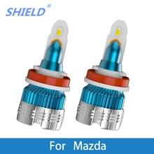 2 Pcs LED Car Headlight H4 LED H1 H7 H11 9005 Auto Headlamps 6000k 12V For Mazda CX 5/E2200D/B4000/Tribute/Navajo/Protege/Miata led 2015 2018 mazd 2 daytime light mazd 2 fog light mazd 2 headlight tribute rx 7 rx 8 protege mx 3 miata cx 3 mazd 2 head lamp