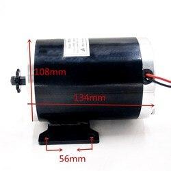 36 V/48 V 1000W silnik elektryczny MY1020 szczotkowany silnik do rower elektryczny/e-skuter/ e-bike/skuter elektryczny/trójkołowy