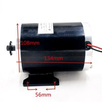 UNITEMOTOR 48V/36V DC 1000W ebike motor MY1020 for Electric Bicycle/e scooter/e bike/electric Scooter/tricycle