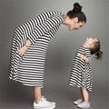 1pc NEW Baby&Mom Dress,Girl Dress,Women Kids Pajamas,Children Clothing,Stripe Family Look Clothing Family Matching OutfitsDEQZ01