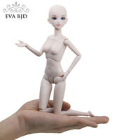 F09 Naked Nude 1/6 SD Doll 28cm 11 inch jointed dolls Toy BJD dolls + Basic Makeup