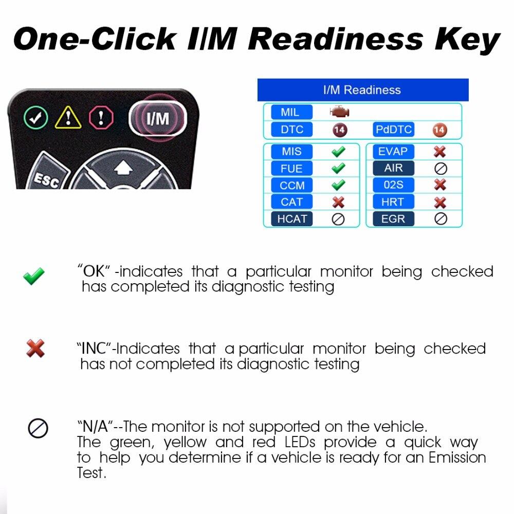 Autel AutoLink AL519 herramienta de diagnóstico OBD2 escáner lector de código escáner Automotriz Automotivo escáner de diagnóstico del coche - 3