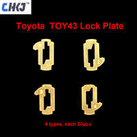 CHKJ TOY43 Car Lock Reed Plate For Toyota Camry Corolla NO.1.2.3.4 Lock Reed Locking Plate Each 50PCS with 10PCS+ Gift Spring