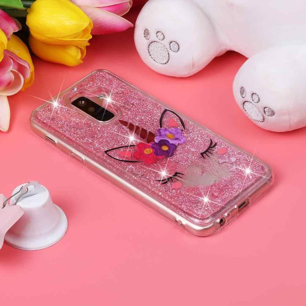 Чехол с блестками Love для huawei P8 P9 Lite 2017 P10 P20 P30 Mate10 Mate20 Pro Чехол с динамическим жидким зыбучим песком Чехол для мобильного телефона