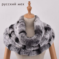 Natural Rex Rabbit Fur Kintted Scarf Real Rex Rabbit Fur Knitting Scarf Neck Warmer Scarves Shawl