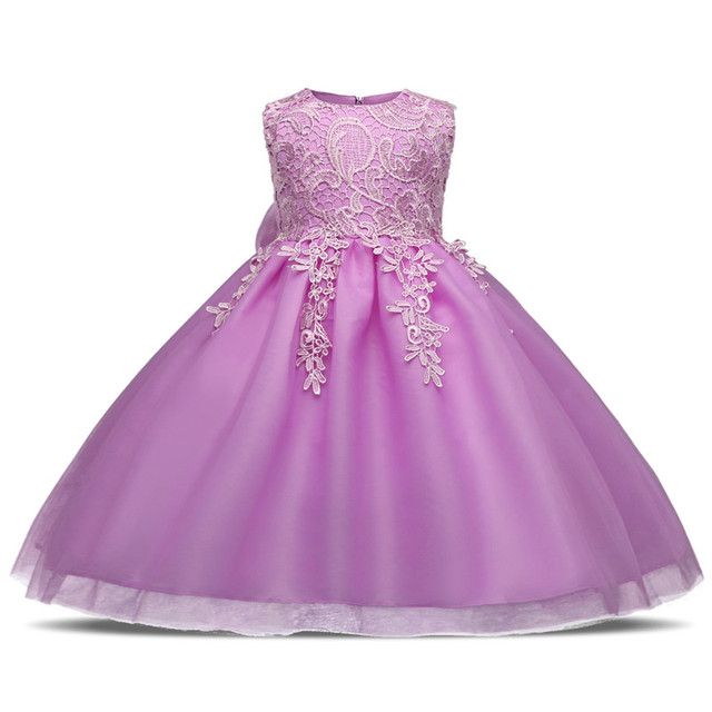 Cute Baby Girl Baptism Dress Baby First Birthday Outfits Dresses For ...