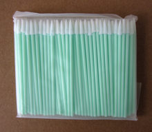 Mini cotonetes de espuma limpa fibra óptica, varas para adaptadores e conectores de limpeza