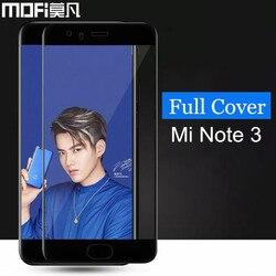 Xiaomi mi note 3 szkło hartowane MOFi oryginalny xiaomi mi note 3 osłona ekranu pełna osłona niebieska xiaomi mi note3 szkło film 5.5 w Etui do ekranu telefonu od Telefony komórkowe i telekomunikacja na