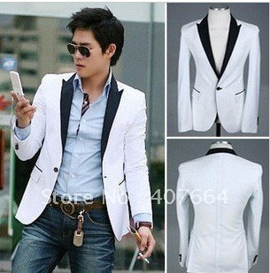 White Suit Jackets Mens