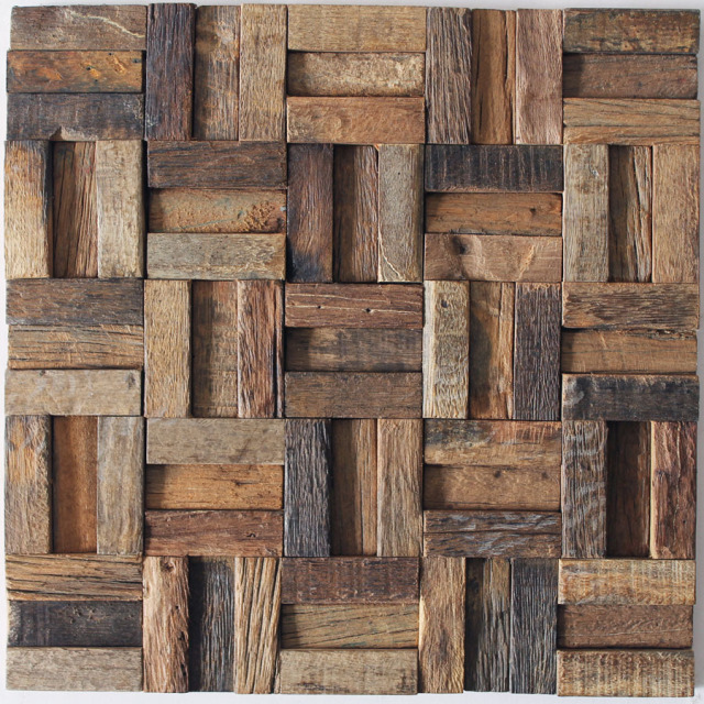 Attrayant Weathered Old Boat Rough Finish Mosaic Tiles Home Garden Home Interior Wall  Design Ideas Walls Mosaic