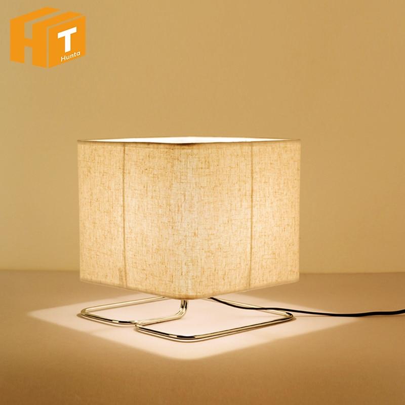 Wood Fabric Rrt LED Table Lamp E27 Student Desk Lamp For Bedroom Home Bedside Lamp Living Room Night Light набор раскрась и собери калейдоскоп