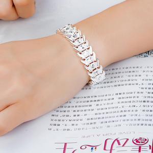 Модные браслеты из стерлингового серебра 925 пробы, женские браслеты с римскими кристаллами на день рождения, Рождество, подарки на день Свят...