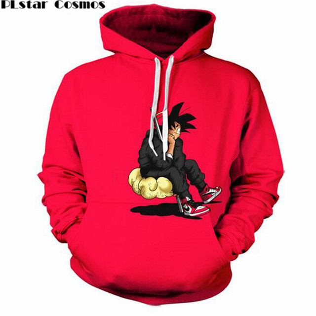 Dragon Ball Z Goku Print 3d Hoodie Sweatshirt