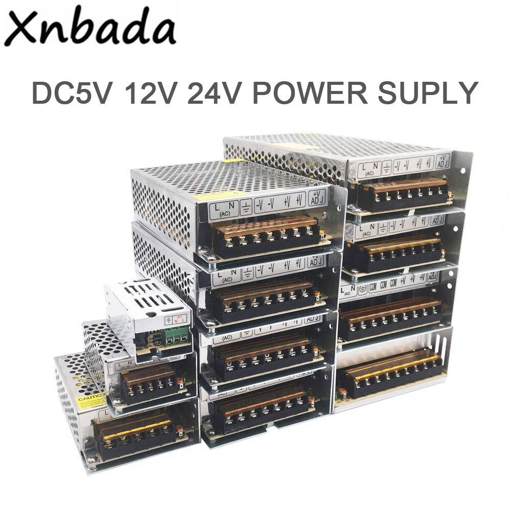 Beleuchtung Transformatoren 110 V 220 V Fahrer Adapter DC5V 12 V 24 V 1A 2A 3A 5A 10A 15A 20A 30A 40A 60A LED Streifen Schalter Netzteil