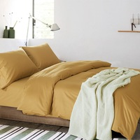 Fashion Solid Bedding Sets Simple Style 6Pcs 10 Colors Available Duvet Cover Bed Sheet Pillowcase Queen