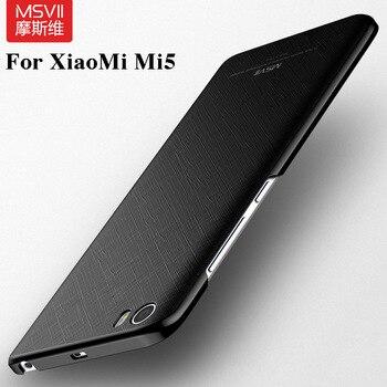 Xiaomi Mi5 Fall Mi 5 Abdeckung Msvii Pro Ultradunne Texturierung PC Frosted Harte Ruckseitige Fur Fallen