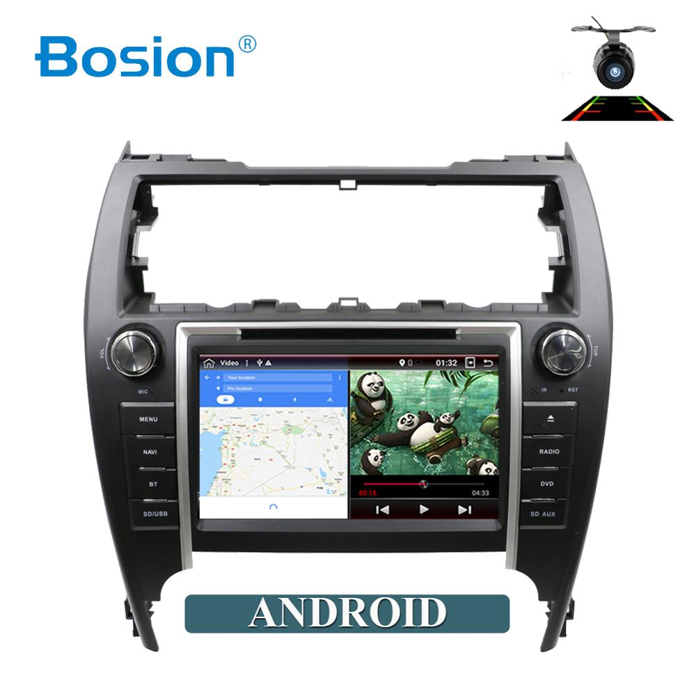 Bosion <font><b>8</b></font> inch <font><b>2</b></font> <font><b>din</b></font> <font><b>Android</b></font> 9.0 for Toyota Camry 2012 car dvd player with GPS 3G 4G WIFI Bluetooth Radio Stereo Navi Map canbus image