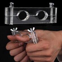 Serrure doigt doigt pour verrouiller le doigt, tours magiques fermer, accessoires de scène magique, nouveauté