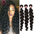 "Brazilian Loose Wave 3Pcs Brazilian Curly Weave Human Hair 7A Mink Brazilian Virgin Hair Bundles 8""-26"" Rosa Queen Hair Products"