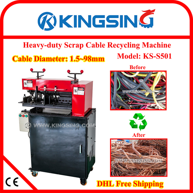 Thick Scrap Wire Stripping Machine, Big Cable Stripping Machine ...