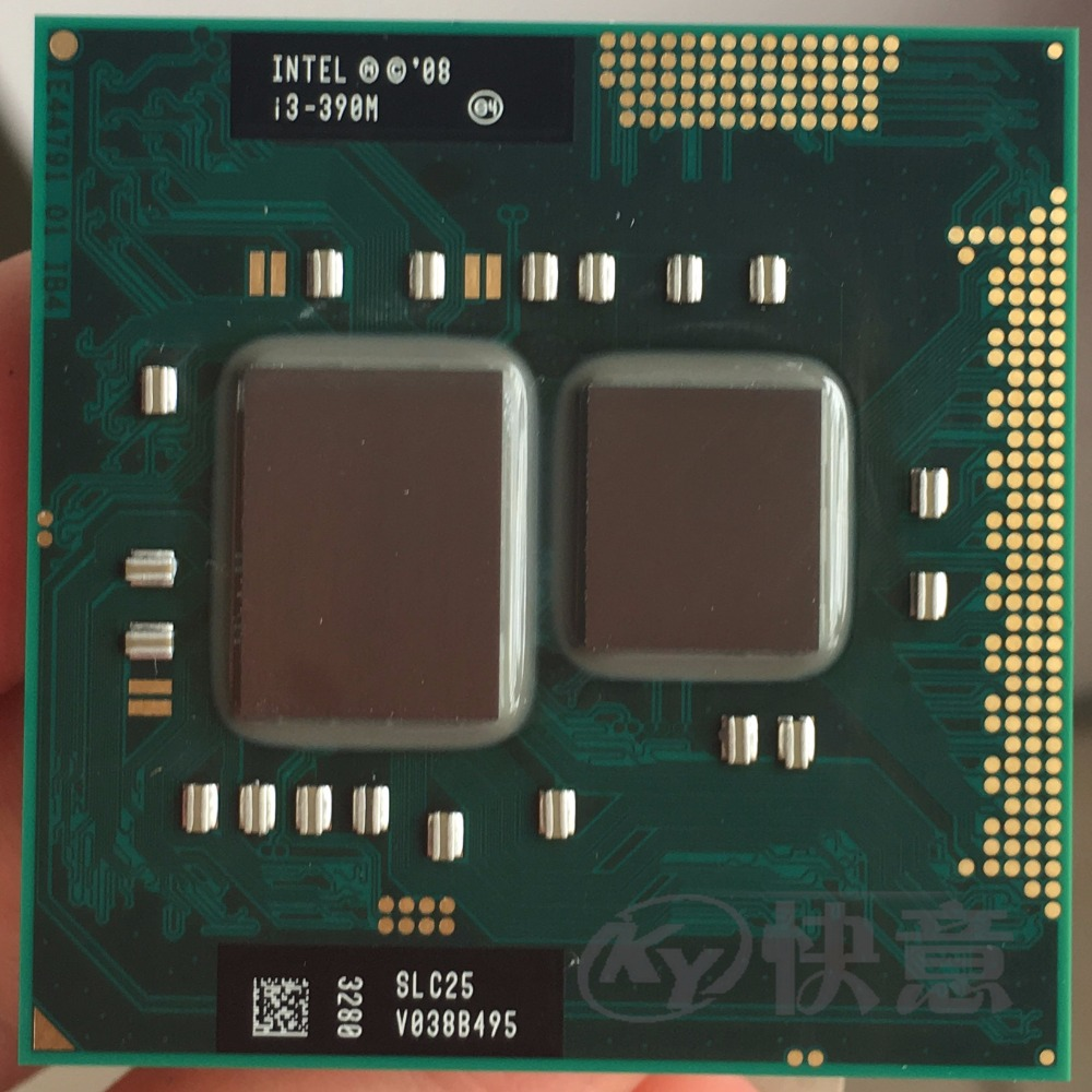 Intel Core i3-390M Processor i3 390M Dual-Core Laptop CPU PGA988 cpu title=