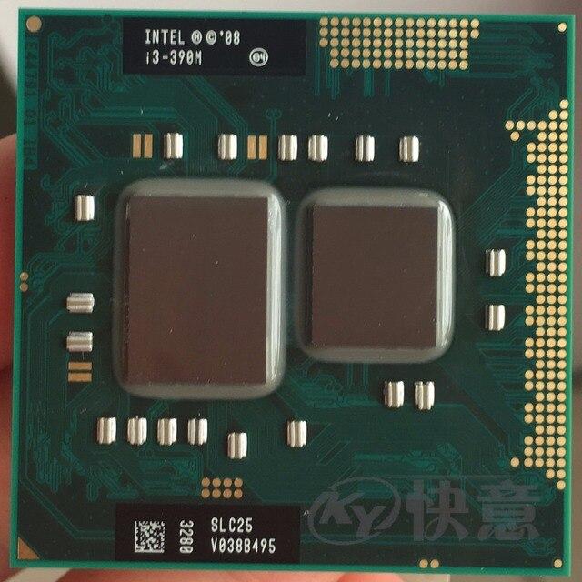 إنتل كور i3-390M معالج i3 390 M ثنائي النواة Laptop CPU PGA988 وحدة المعالجة المركزية