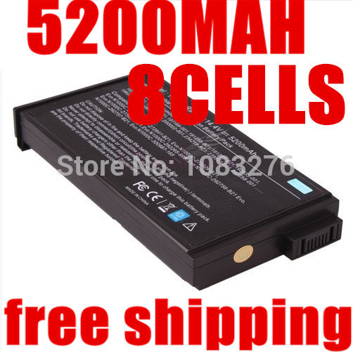 5200MAH Laptop Battery For HP Mobile workstation NW8000 forCompaq Business Notebook NC6000...