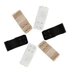 Arherigele 3pcs Bra Extender Strap 2/3 Hook Bra Extension Ajustable Intimates Lengthened Bra Hook Buckle Women Bra Accessories