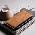 D-parque de lujo case para iphone 7 brillante lana de fieltro y cuero genuino con la ranura para tarjeta para iphone 7 plus wallet case para iphone 6 s/6