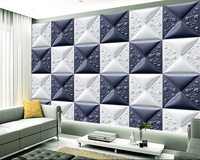 Custom 3 D Wallpaper Rose Panels Soft Package Murals For The Sitting Room The Bedroom TV