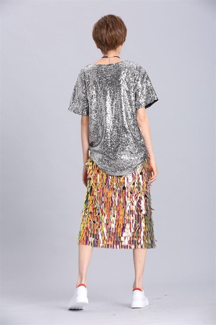 Hips Shiny Shine Half Skirt LT400S50