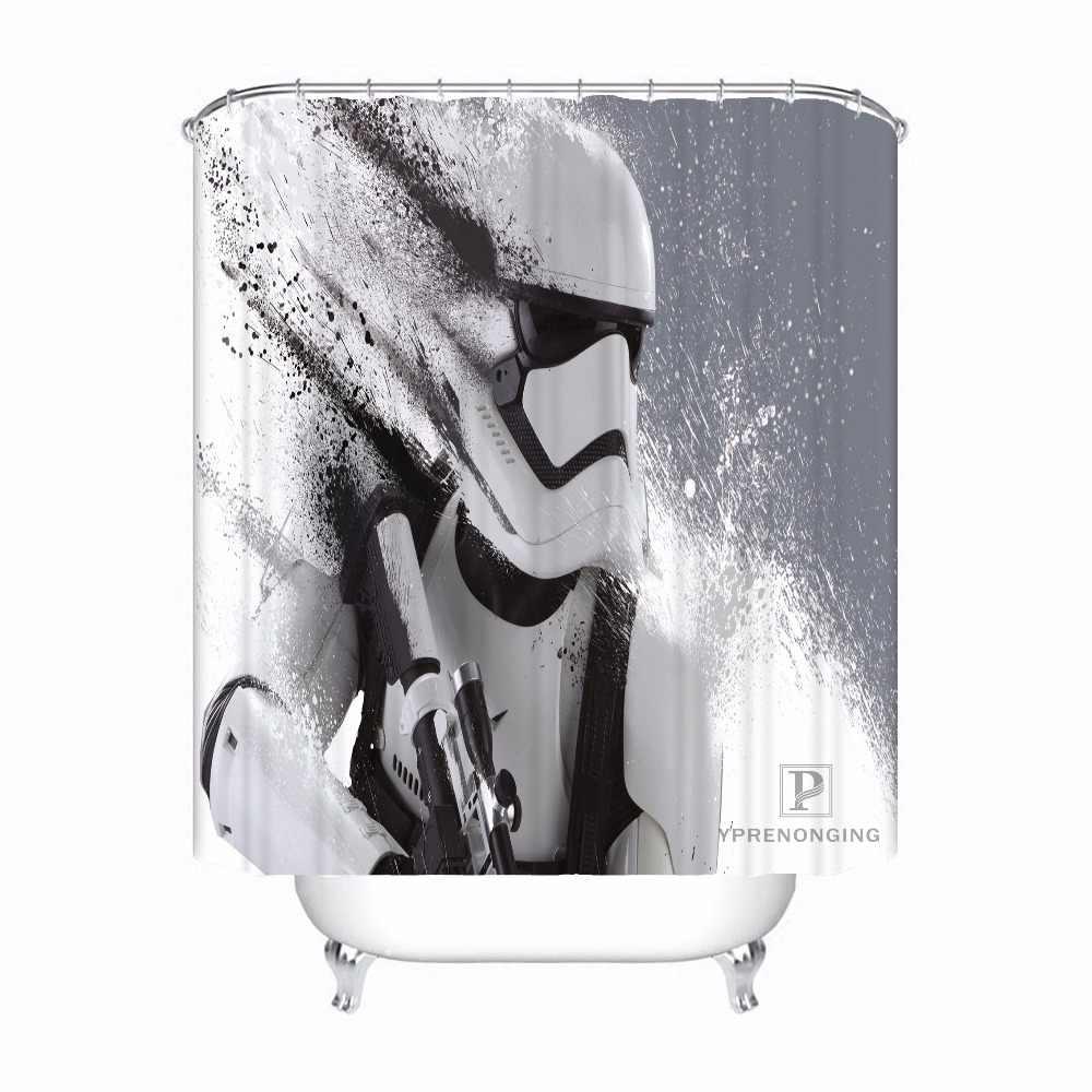 مخصص حرب النجوم @ 01 دش حمام ستارة الحمام Mildewproof مقاوم للماء البوليستر أحجام مختلفة #0421-21-49