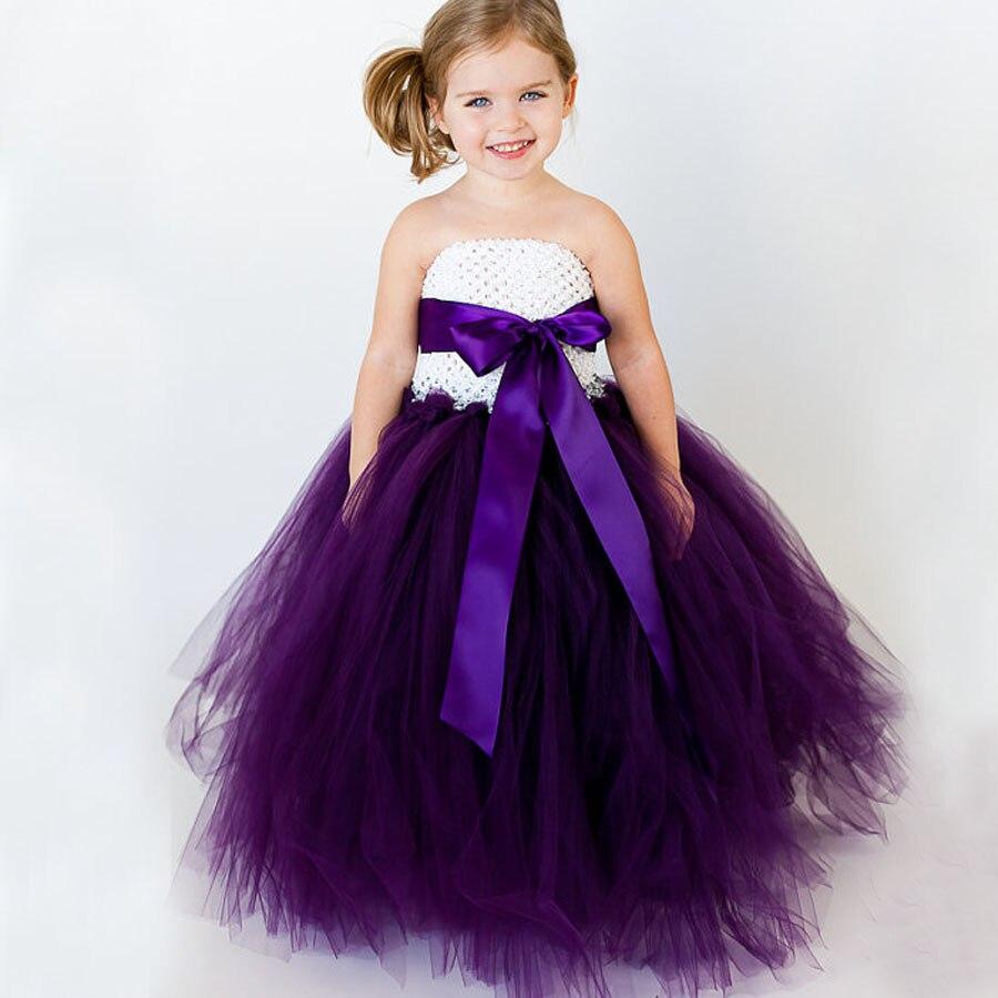 Nuevo vestido del tutú del bebé ribbow Bow niños vestido de princesa ...