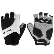 BOODUN Breathable Non slip Bike Half finger font b Gloves b font Short Finger Cycling font
