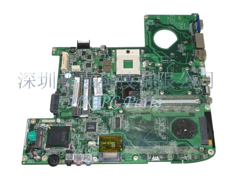 MBAKV06001 MB.AKV06.001 Main board For Acer 5920 motherboard / System board GM965 DDR2 DA0ZD1MB6F0 without graphics slot
