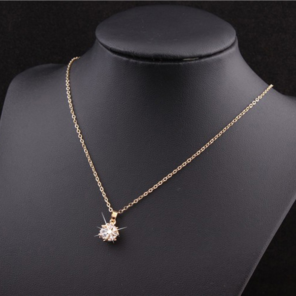 products fashionmia crystal pendant com necklace long ball