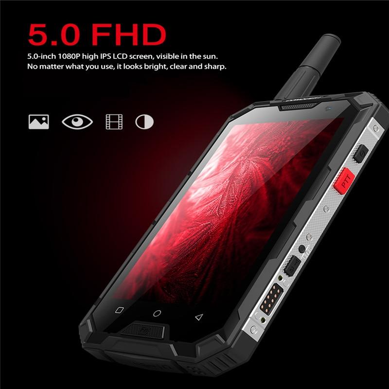 CONQUEST S8 IP68 прочный смартфон 4 Гб 64 ГБ Android 7,0 Восьмиядерный водонепроницаемый мобильный телефон NFC/IR/SOS/OTG/FM/Walkie talkie - 2