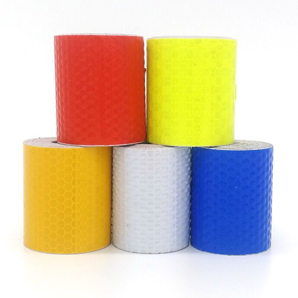 Safety Warning Tape Car DIY Styling Fluorescent Reflective Sticker 5cm*300cm Automobile luminous strip car motorcycle Decoration