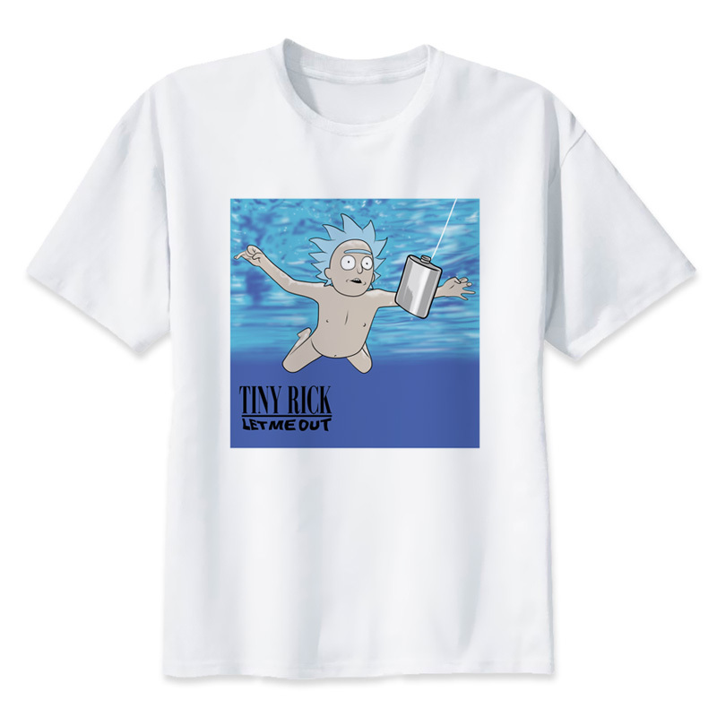 Camisetas Oferta Morty Tamaño S Camiseta Hombre Más Ropa 3xl Hombres 2018 Y Especial Rick Camisas T2066 Marca Corto Verano wq10X5tw