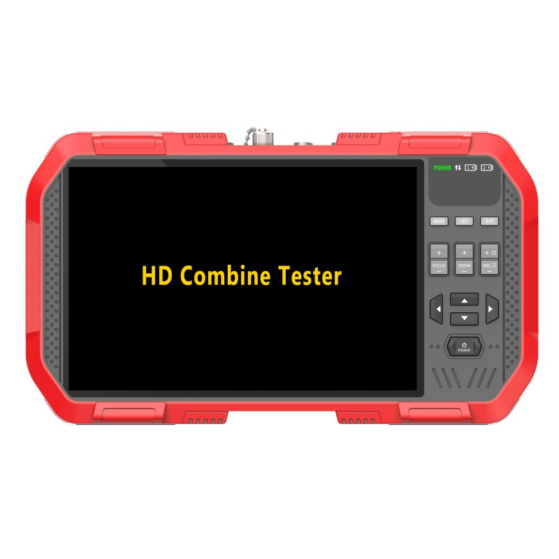Image 3 - Newest 7 Inch H.265 4K IP camera tester 8MP TVI CVI 5MP AHD CVBS CCTV Tester Monitor with Multimeter Optical power meter DT A86-in CCTV Monitor & Display from Security & Protection