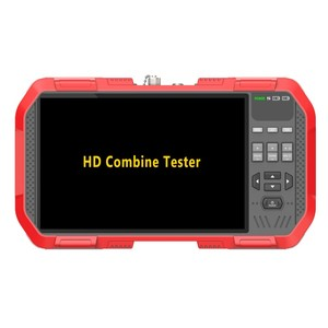 Image 3 - Newest 7 Inch H.265 4K IP camera tester 8MP TVI CVI 5MP AHD CVBS CCTV Tester Monitor with Multimeter Optical power meter DT A86