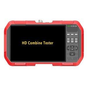 Image 3 - Testeur de caméra de vidéosurveillance H.265 4K IP 8MP TVI CVI 5MP AHD CVBS, 7 pouces, le plus récent avec multimètre, compteur de puissance optique, DT A86