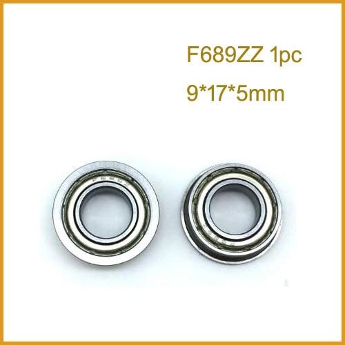 8x16x5 mm SF688zz 4PCS Stainless Flanged Ball Bearing Bearings F688zz 8*16*5