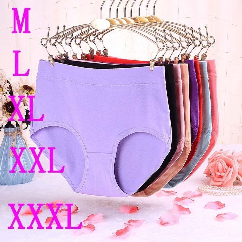 Buy New Underwear Women Panties Cotton Shorts Breifs Sexy Lingeries Female Plus Size Panties Women Tanga Underpants Panty Lady