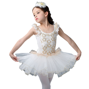 ballet dress girls tank ballet lace dress dance tutu girls dance costumes white swan costume figure skating dress недорого