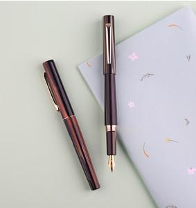 Image 4 - Перьевая ручка Moonman N3 Celluloid, акриловая ручка с красивыми полосками, перьевая ручка Iridium EF/F, Отличная офисная ручка для письма, подарочная ручка с чернилами