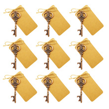 50Pcs Wedding Favor Antique Beer Bottle Opener Alloy Key Openers of Spades Bar Tool Gifts Festive Supplies