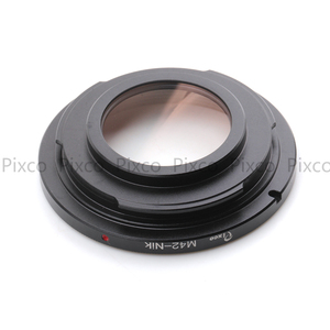 Image 5 - Pixco M42 Nik With Infinity Focus Glass Lens Adapter Ring Suit For M42 to suit for Nikon Camera D750 D8
