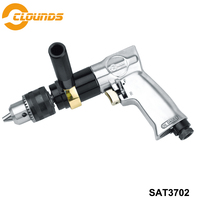 SAT3702 Low Speed Reversible Pneumatic Drill Air Drills Pneumatic Drill Tools