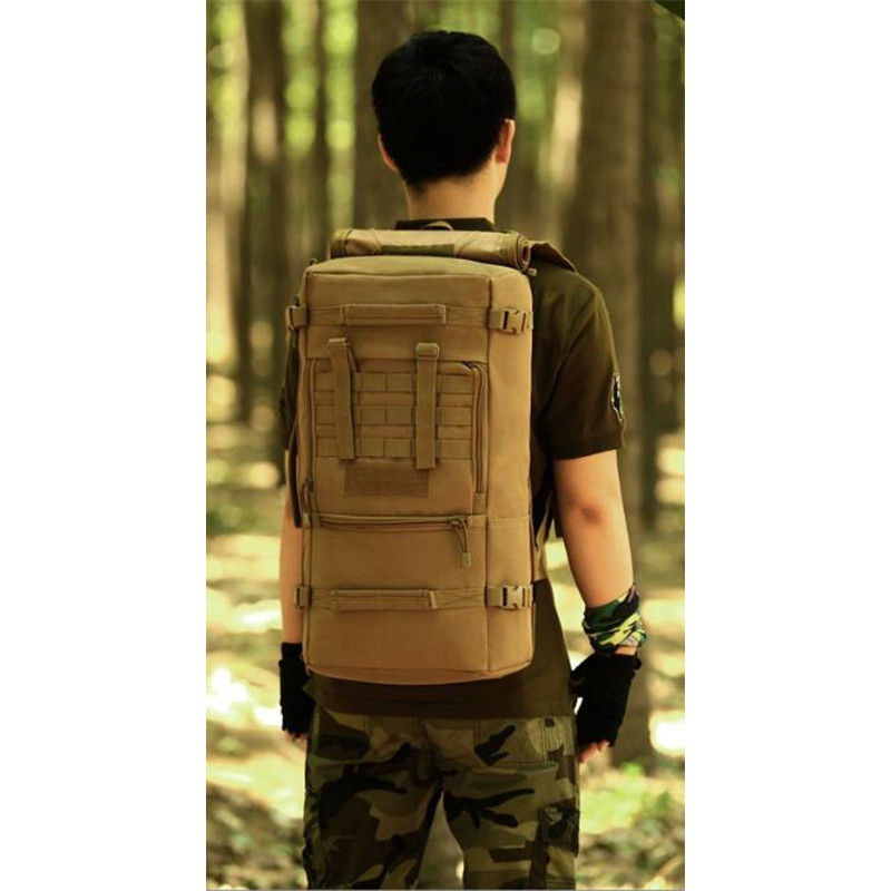 nylon military waterproof backpack bag 50 l multifunctional leisure fashion notebook aircraft backpack brand best backpack male
